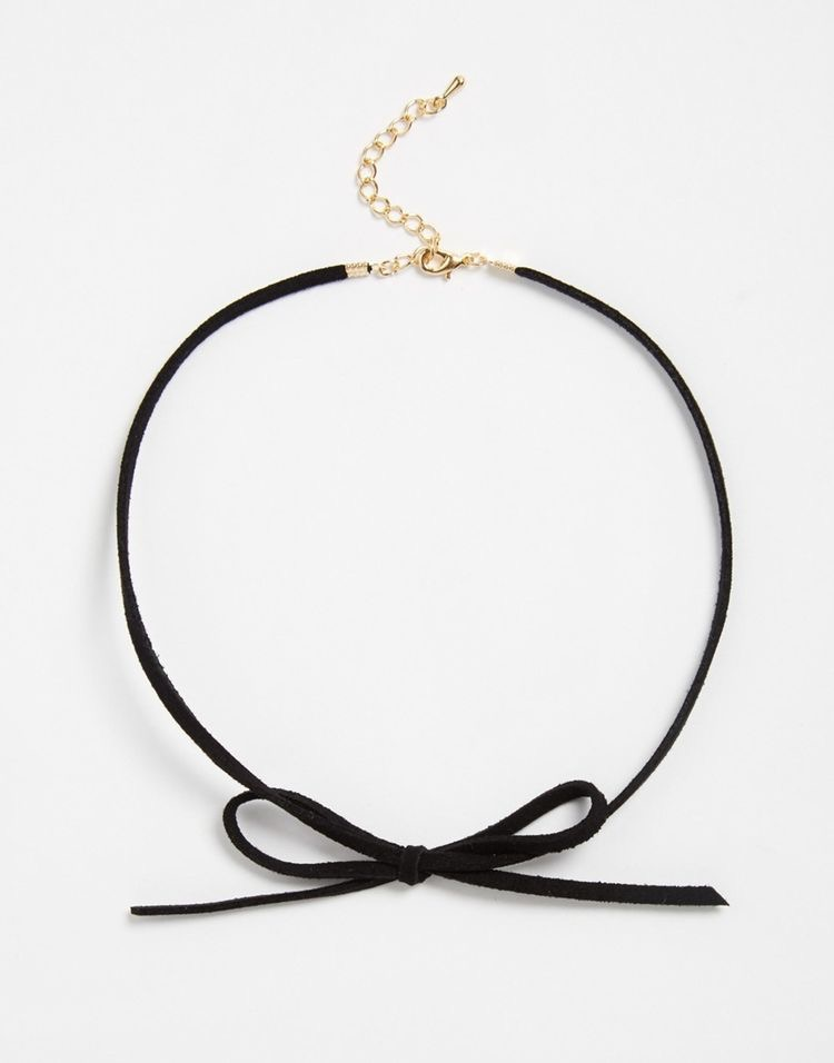This seasons Hottest trend.. The choker wear with anything for that cool factor